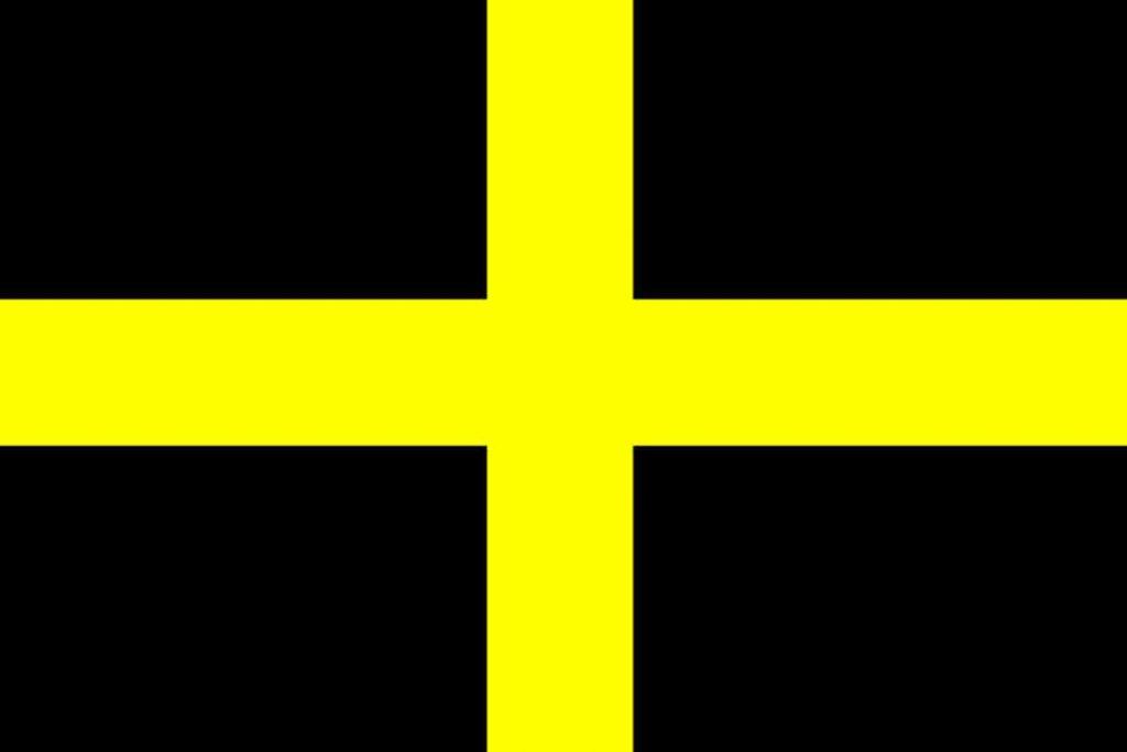 Saint David's flag, why is the UK flag called the Union Jack