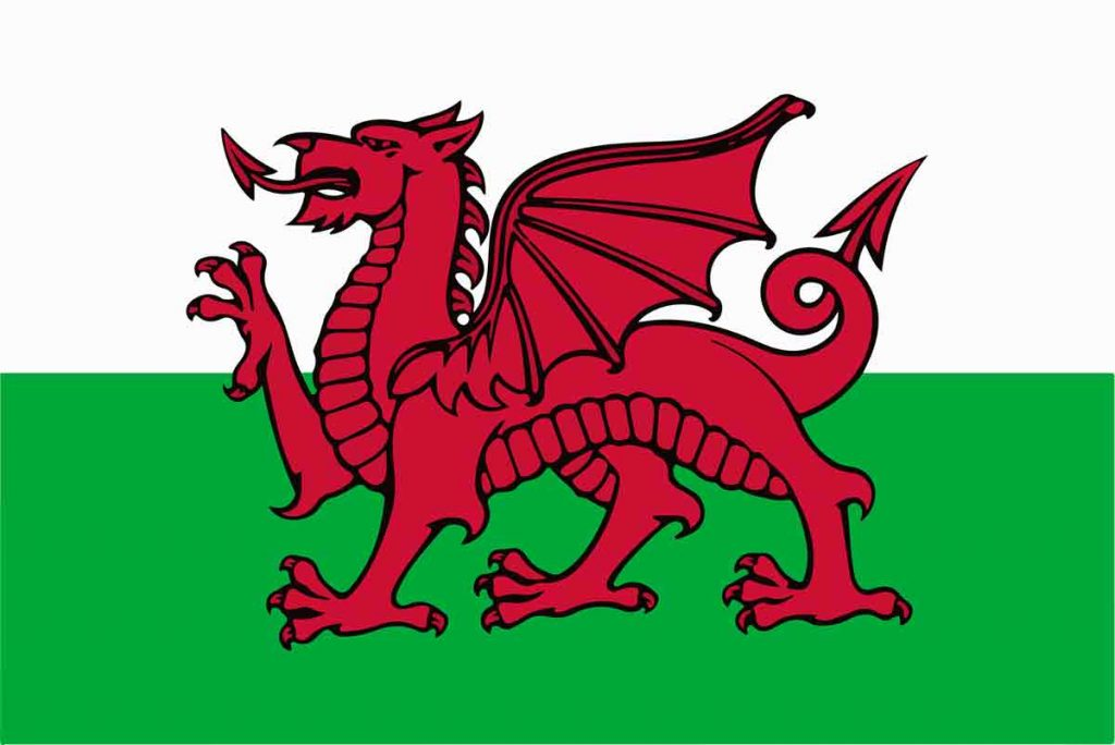 Welsh flag, why is the UK flag called the Union Jack