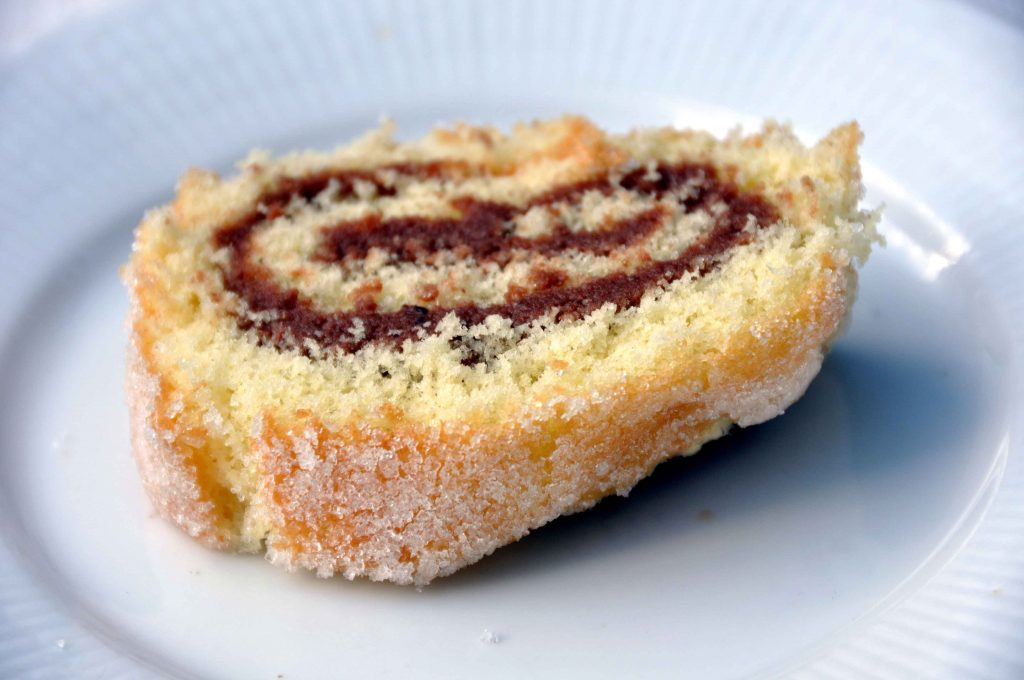 Jam Roly-poly is one of the regional food delicacies in the UK.