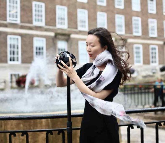 Liping Pan set up her business as a 360-degree videographer in Bristol.