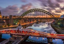 Tyne Bridge, guide to Newcastle upon Tyne