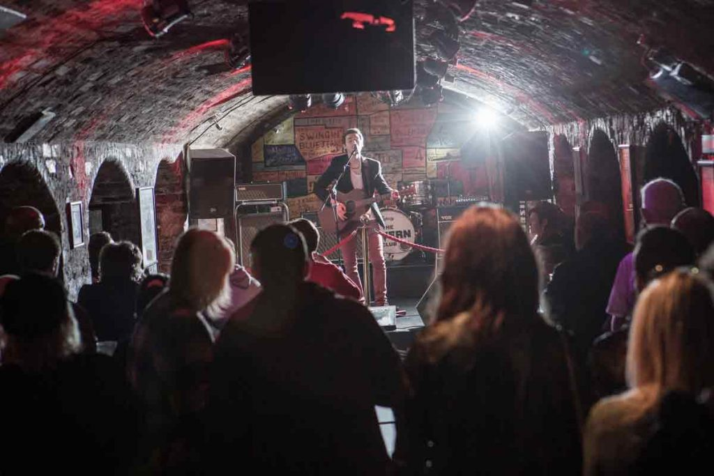 Gig at Cavern Club, guide to Liverpool. It is the beating heart of Liverpool's music scene