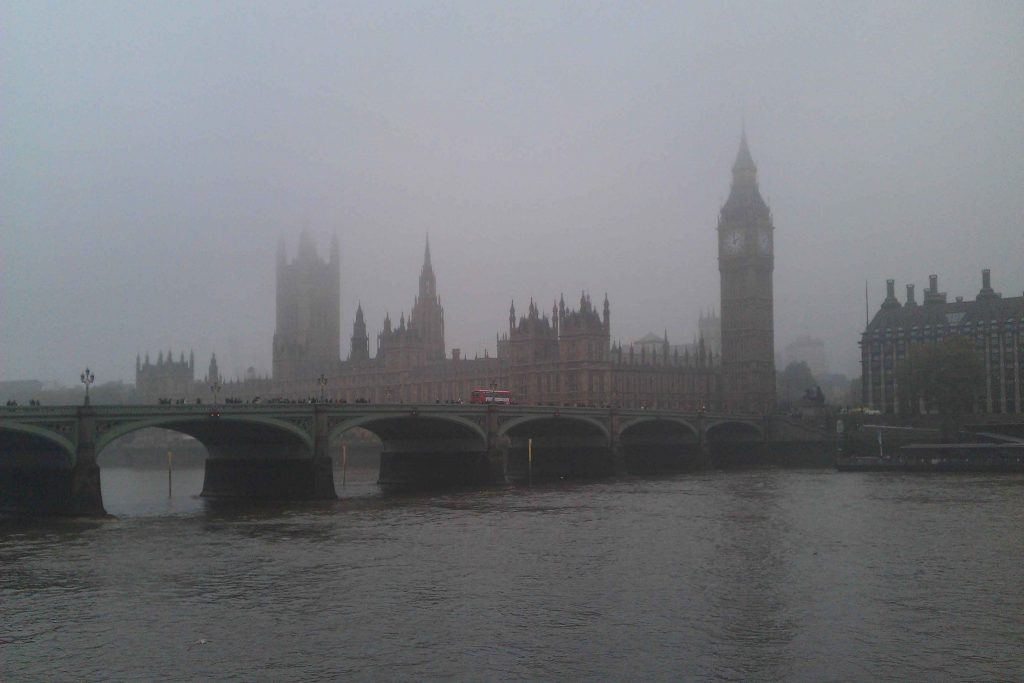 One of the things you may not know about the UK is it was always foggy in London around 1940s and 1950s.