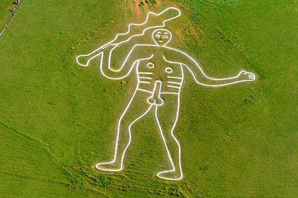 One of the things you may not know about the UK is there is a naked giant in Dorset.
