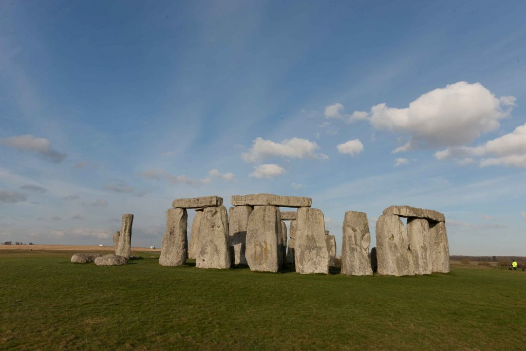 Stonehenge in Wiltshire. The origin of Stonehenge may be one of the things you may not know about the UK.
