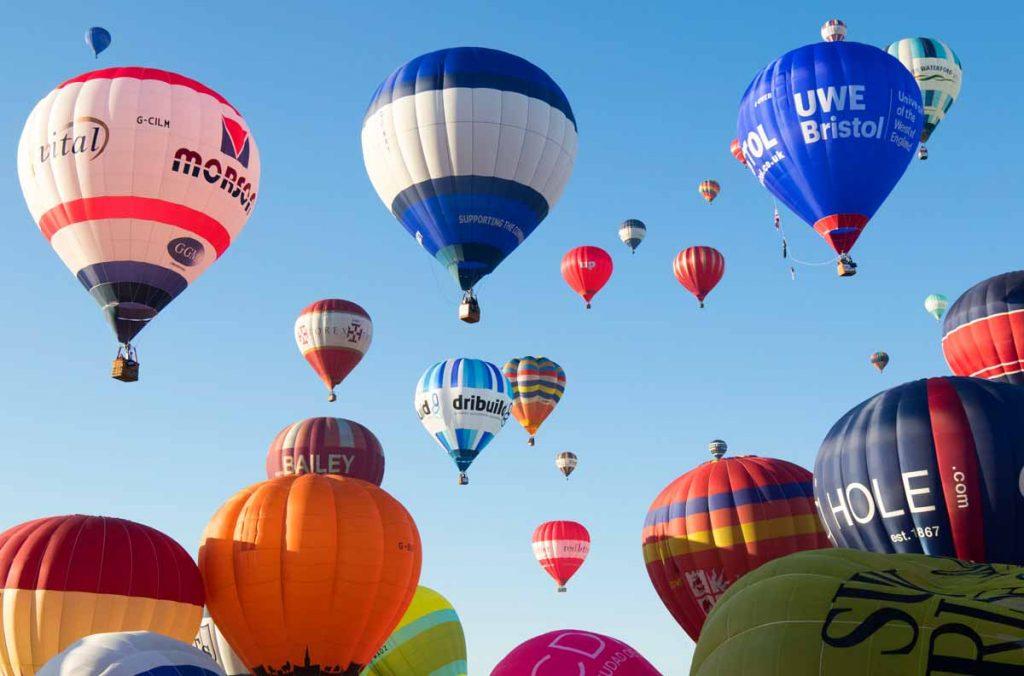 What's on in August: Bristol Hot Air Balloon Fiesta